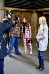 Aly Raisman - Leaving NBC Studios in NYC 01/23/2020