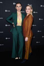 Amanda AJ Michalka and Alyson Aly Michalka – Spotify Best New Artist 2020 Party in LA