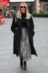 Amanda Holden - Exits the Heart Radio Studios in London 01/22/2020