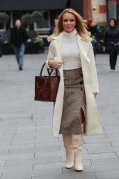 Amanda Holden in Gingham Pattern Skirt 01/10/2020