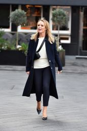 Amanda Holden is Stylish - London 01/27/2020