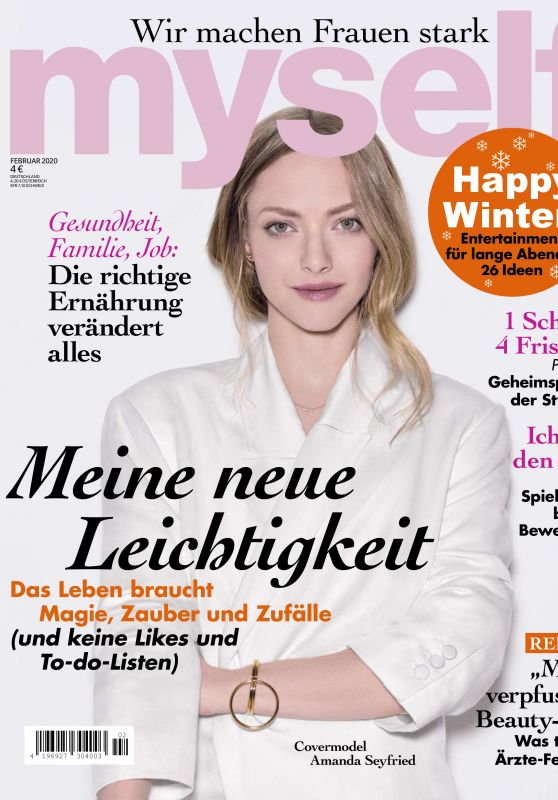 Amanda Seyfried - myself Magazine January 2020 Issue