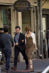 """Ana de Armas - """"Deep Water"""" Set in New Orleans 01/21/2020"""