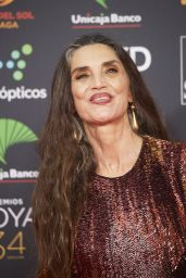 Angela Molina – Goya Cinema Awards 2020 Red Carpet in Madrid 01/25/2020