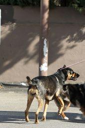 Ariel Winter - Walking Her Dog in LA 01/18/2020
