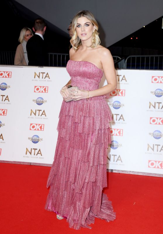 Ashley James - National Television Awards 2020 in London