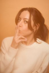 Aubrey Plaza – Pizza Hut Lounge Sundance 2020 Portraits
