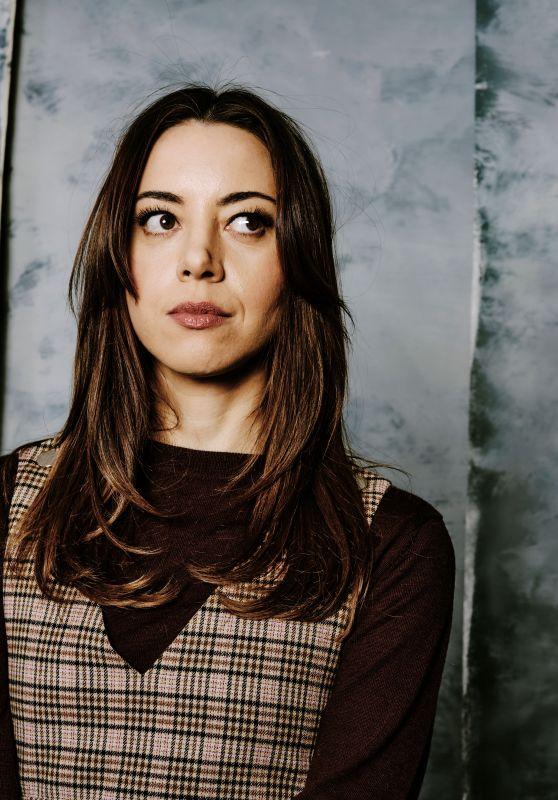 Aubrey Plaza - Sundance 2020 Portraits