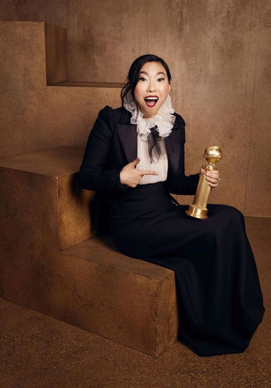 Awkwafina - Golden Globes 2020 Official Portrait