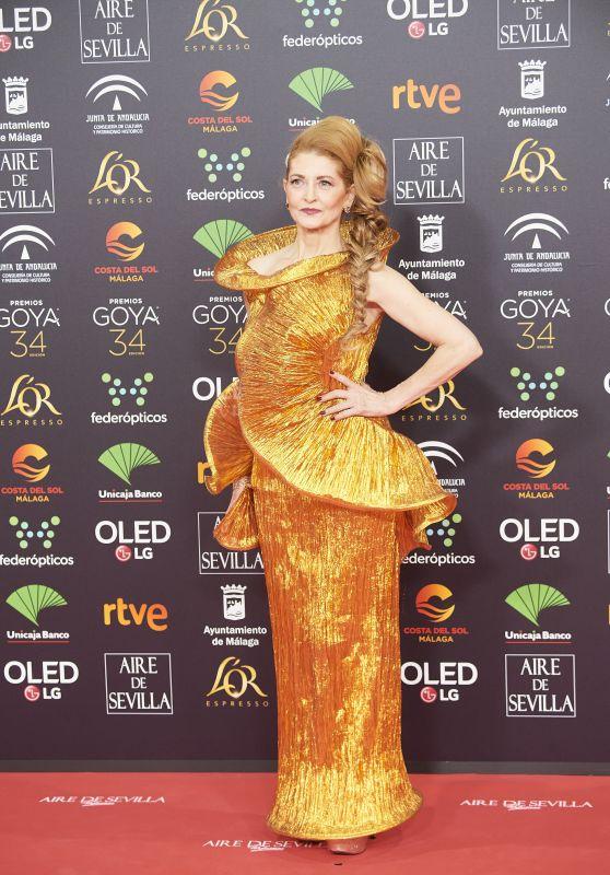 Azucena de la Fuente – Goya Cinema Awards 2020 in Madrid