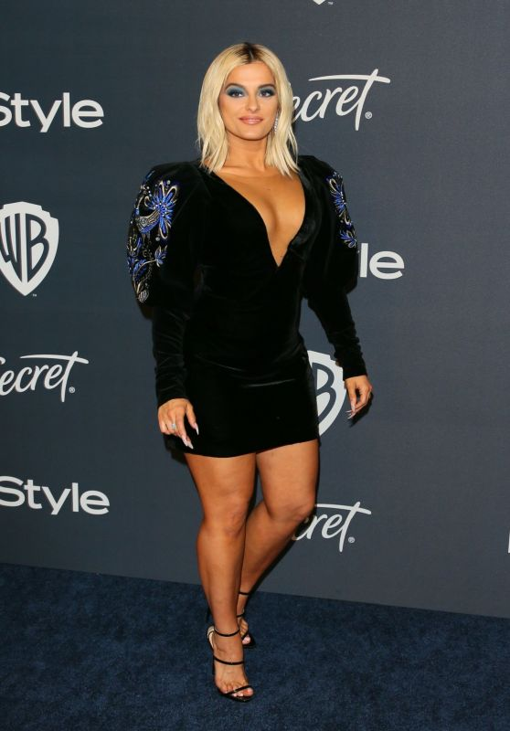 Bebe Rexha - 2020 Warner Bros. and InStyle Golden Globe After Party