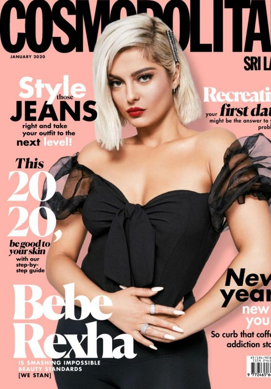 Bebe Rexha - Cosmopolitan Sri Lanka January 2020 Cover