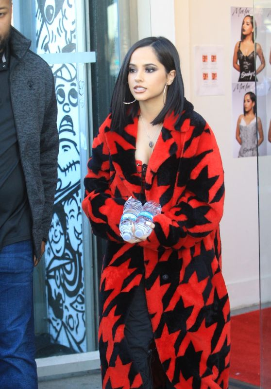 Becky G - Arrives at a Meet and Greet in Hollywood 01/14/2020