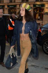 Bella Hadid Chic Street Style 01/22/2020