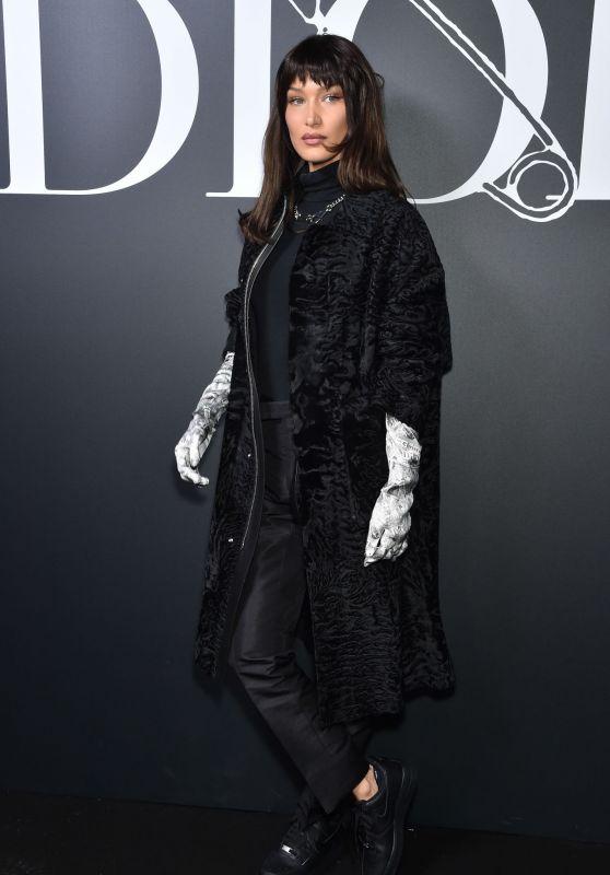 Bella Hadid – DIOR Show at Paris Fashion Week 01/17/2020