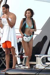 Bella Hadid in a Bikini 01/01/2020