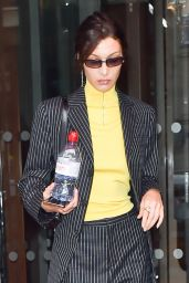 Bella Hadid is Stylish - Leaving the Royal Monceau Hotel in Paris 01/17/2020