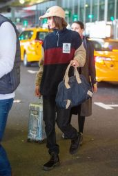Bella Hadid - JFK Airport in NYC 01/23/2020