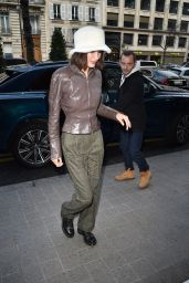 Bella Hadid  Looks Stylish - Paris 01/19/2020