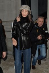 Bella Hadid - Out in Paris 01/21/2020