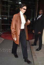 Bella Hadid Street Fashion - Paris 01/14/2020
