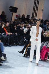 Bella Hadid - Walks Alexandre Vauthier Show in Paris 01/21/2020 (Part I)