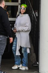 Billie Eilish - Leaving a Pre-Grammys Party at Milk Studios in Hollywood 01/25/2020