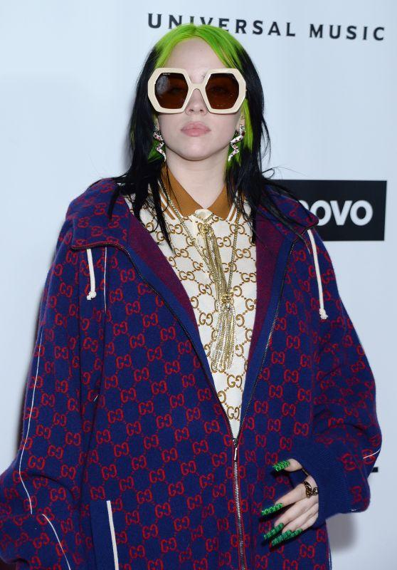 Billie Eilish - Universal Music Group Grammy After Party 01/26/2020