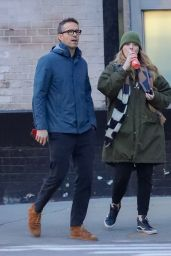 Blake Lively and Ryan Reynolds - NYC 01/15/2020