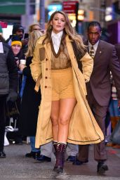 Blake Lively - Arriving at GMA in NYC 01/28/2020