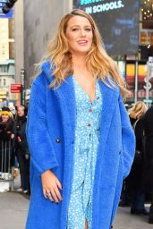 Blake Lively - Leaving GMA in NYC 01/28/2020