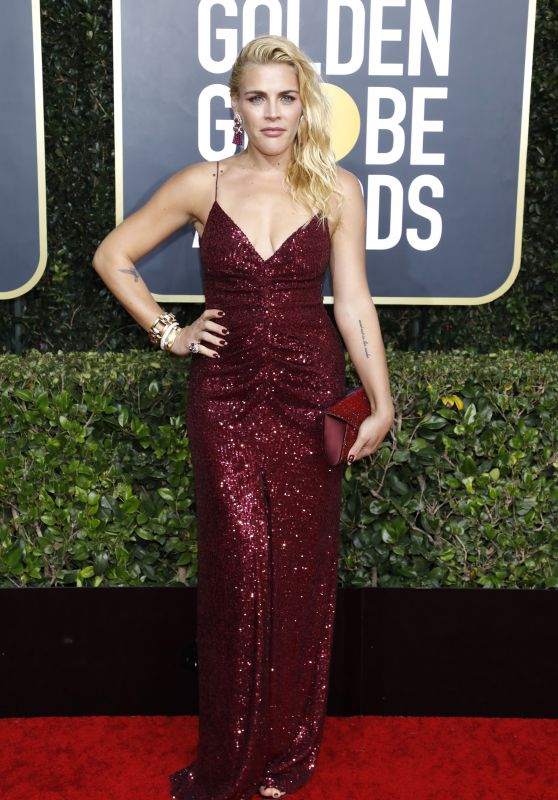 Busy Philipps – 2020 Golden Globe Awards