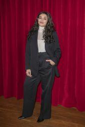 Camelia Jordana – Ami Alexandre Mattiussi Show at Paris Fashion Week in Paris 01/14/2020