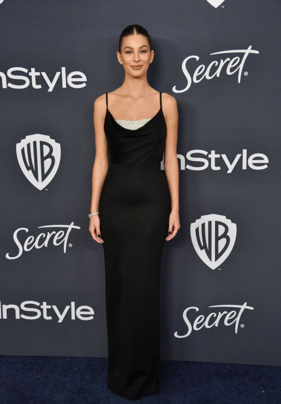 Camila Morrone – 2020 Warner Bros. and InStyle Golden Globe After Party