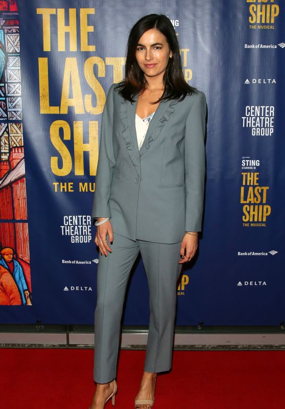 "Camilla Belle - ""The Last Ship"" Opening Night Performance in LA"