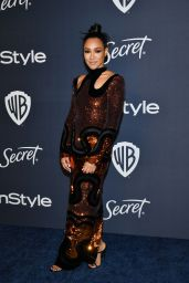 Candice Patton – 2020 Warner Bros. and InStyle Golden Globe After Party