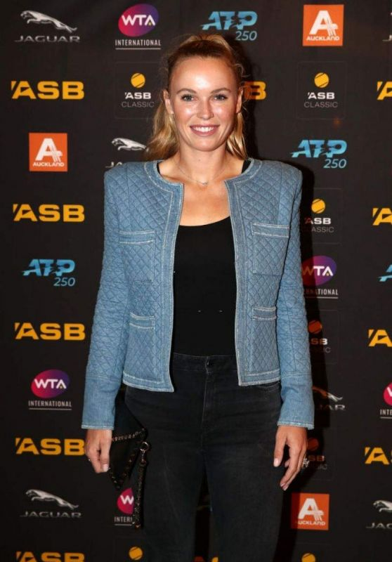 Caroline Wozniacki - ASB Auckland Players Party 01/05/2020