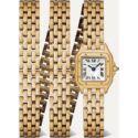 Cartier Panthere De Cartier 20Mm Small 18-Karat Gold Watch