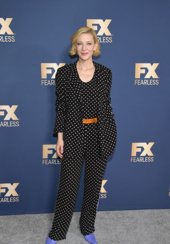 Cate Blanchett – 2020 Winter TCA Tour in Pasadena 01/09/2020
