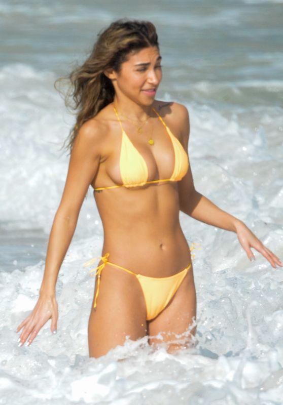 Chantel Jeffries in a Bikini in Tulum 01/02/2020