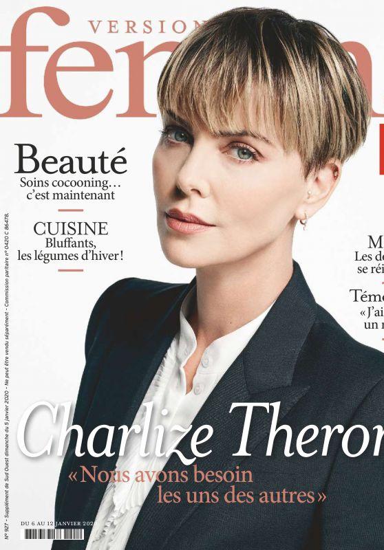 Charlize Theron - Version Femina France 01/05/2020 Issue