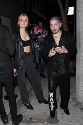 Charlotte Lawrence and Andrew Watt - Bootsy Bellows Night Club in West Hollywood 01/25/2020