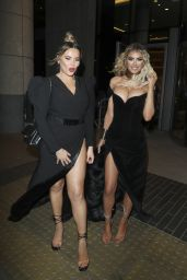 Chloe Sims and Georgia Kousoulou – Leaving the NTA Afterparty 01/28/2020