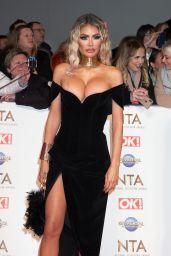 Chloe Sims – National Television Awards 2020 in London