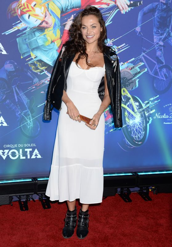 Christina Ochoa – Cirque du Soleil VOLTA Premiere in LA