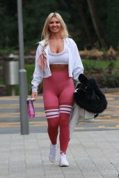 Christine McGuinness in Workout Gear 01/17/2020