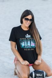 Claudia Romani - Gets Ready for SuperBowl Weekend 01/29/2020