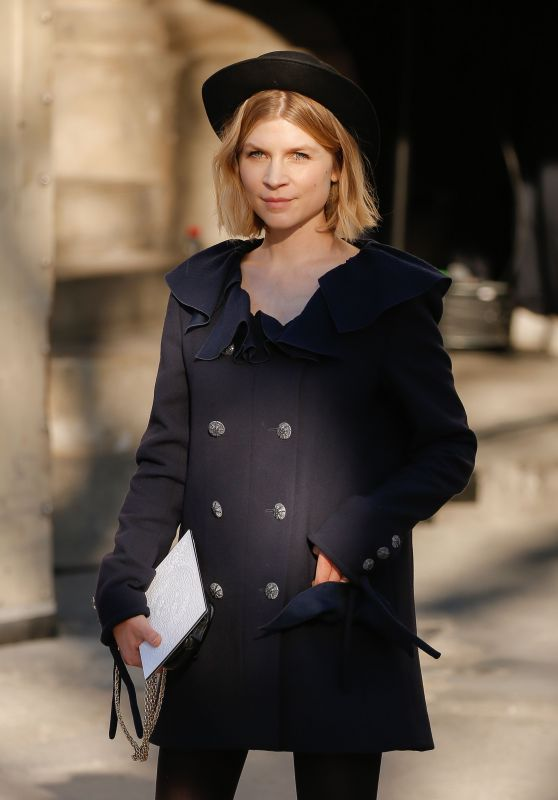 Clemence Poesy - Chanel Show at Paris Fashion Week 01/21/2020