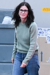 Courteney Cox - Retail Therapy at the Celine Store in LA 01/16/2020