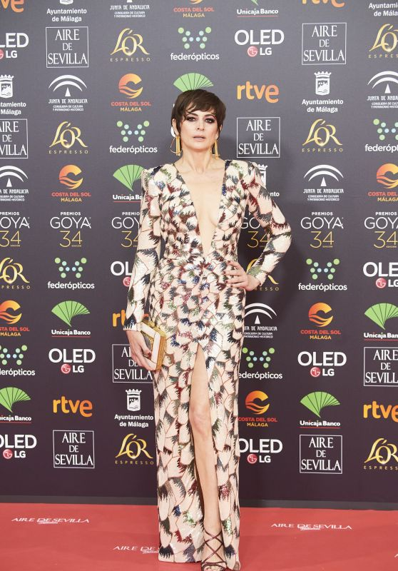 Cuca Escribano – Goya Cinema Awards 2020 in Madrid